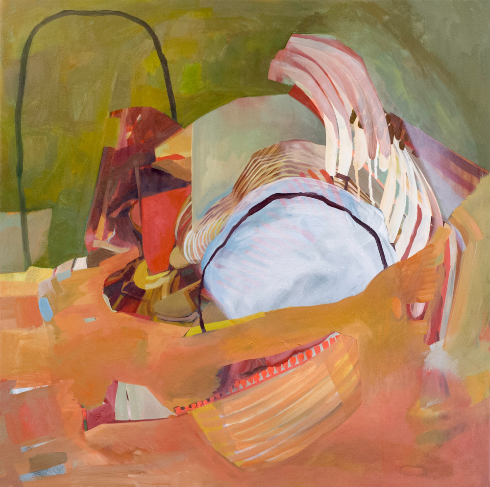 The Relic Men, oil on canvas, 35.25 x 34.75 in, 2015