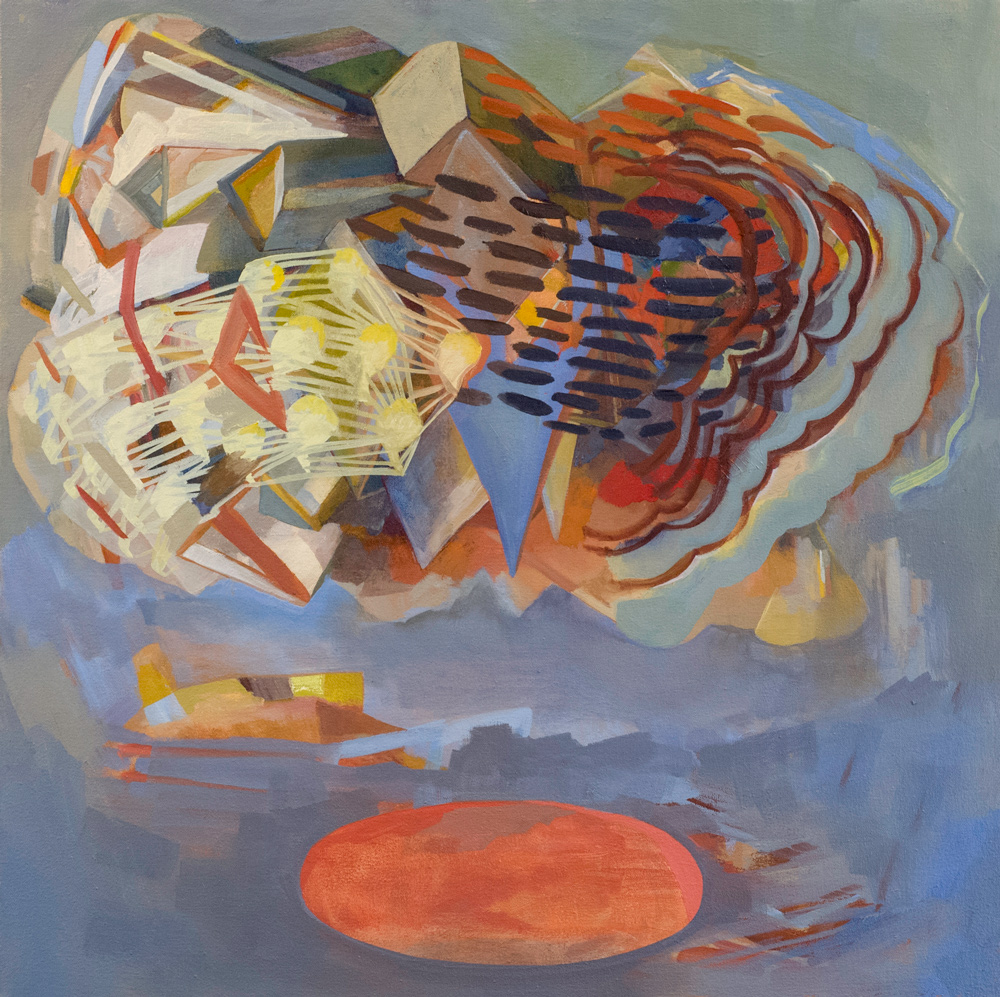 Othership, oil on canvas, 24 x 24.5 in, 2015